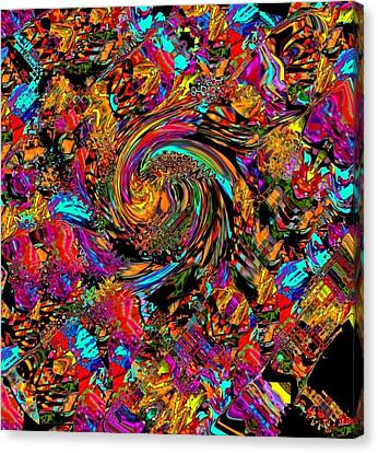 Carnaval 08 Canvas Print by Oksana Linde