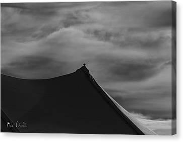 Carnival Tent Canvas Print by Bob Orsillo