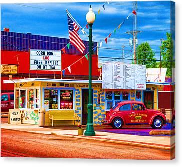 Carol's Corner Canvas Print by Mike OBrien