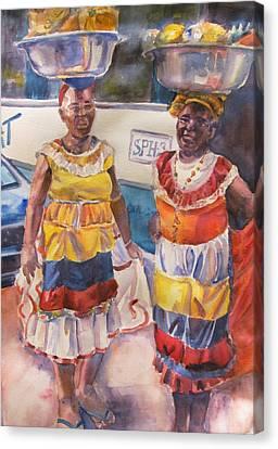 Cartegna Ladies Canvas Print by Joyce Kanyuk
