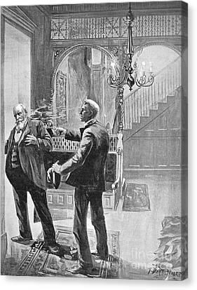 Carter Henry Harrison Canvas Print by Granger