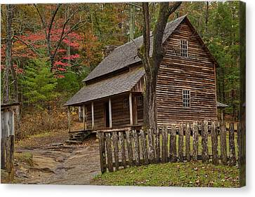 Carter House Canvas Print by Charles Warren