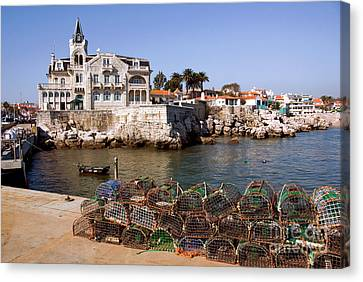 Cascais Bay Canvas Print by Carlos Caetano