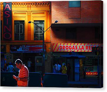 Casino Canvas Print by Skip Hunt