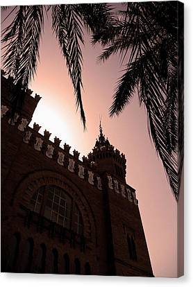 Castell Dels Tres Dragons - Barcelona Canvas Print by Juergen Weiss