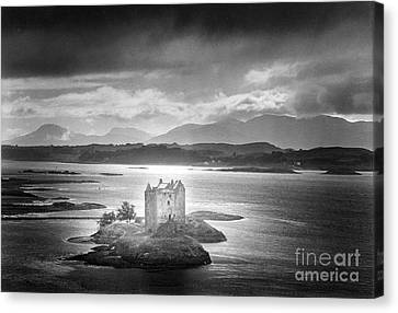 Castle Stalker Canvas Print by Simon Marsden
