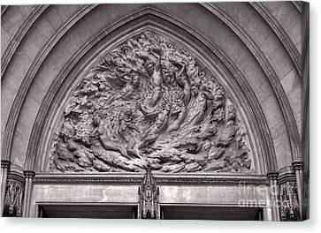Cathedral Ex Nihilo Canvas Print by Susan Isakson