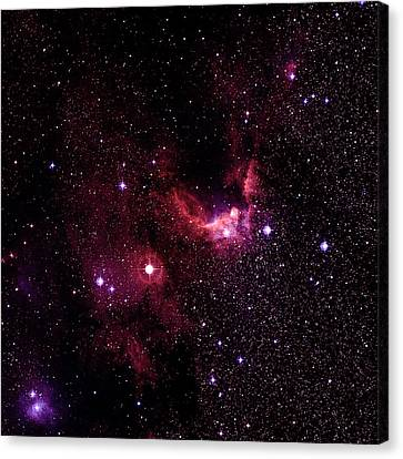 Cave Nebulae Canvas Print by Celestial Image Co.