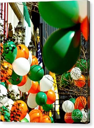 Celebrate Saint Patrick's Day Canvas Print by Carol F Austin