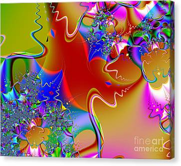 Celebration . S16 Canvas Print by Wingsdomain Art and Photography