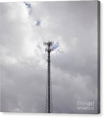 Cell Phone Tower Canvas Print by Paul Edmondson