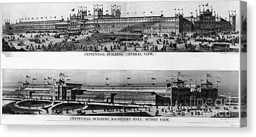 Centennial Expo, 1876 Canvas Print by Granger