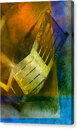 Chair  Canvas Print by Mauro Celotti
