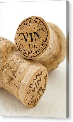 Champagne Corks Canvas Print by Frank Tschakert