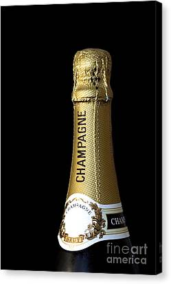Champagne Neck Canvas Print by Richard Thomas