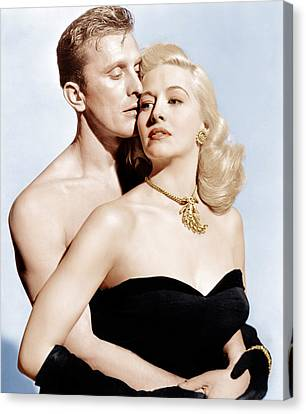 Champion, From Left Kirk Douglas Canvas Print by Everett
