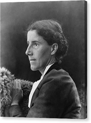 Charlote Perkins Gilman 1860-1935 Canvas Print by Everett