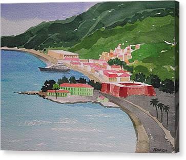 Charlotte Amalie Canvas Print by Robert Rohrich
