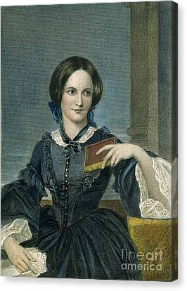 Charlotte Bronte Canvas Print by Granger