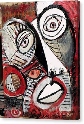 Chasing Picasso Canvas Print by Robert Daniels