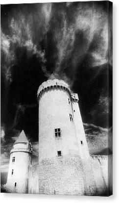 Chateau De Blandy Les Tours Canvas Print by Simon Marsden