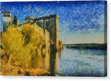 Chateau De Tarascon Canvas Print by Aaron Stokes