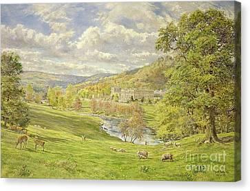 Chatsworth Canvas Print by Tim Scott Bolton