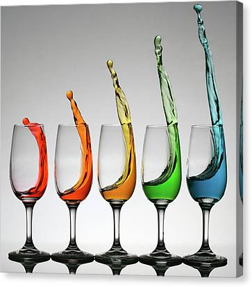 Cheers Higher Canvas Print by William Lee