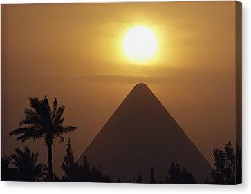 Cheops Pyramid, The Canvas Print by George F. Mobley