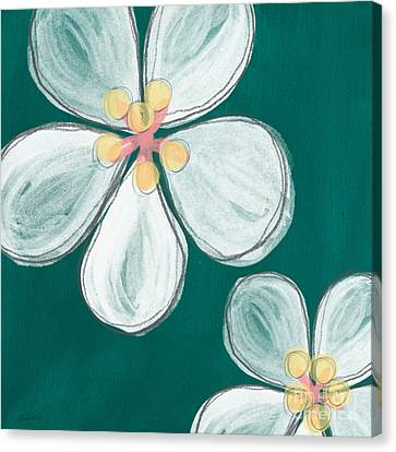 Cherry Blossoms Canvas Print by Linda Woods