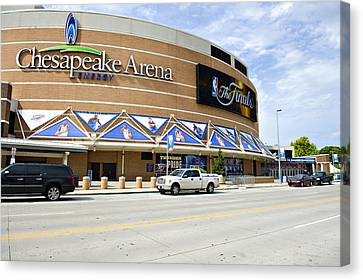 Chesapeake Arena Canvas Print by Malania Hammer