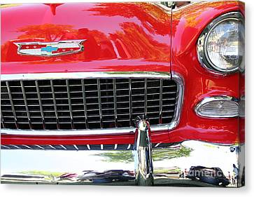 Chevrolet Bel-air - 5d16438 Canvas Print by Wingsdomain Art and Photography