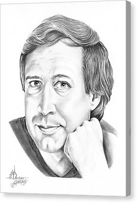 Chevy Chase Canvas Print by Murphy Elliott