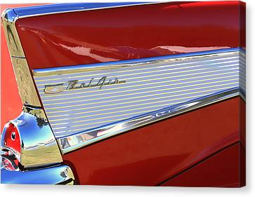 Chevy Lines Canvas Print by Dorothy Menera