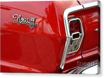 Chevy Nova Canvas Print by John Black