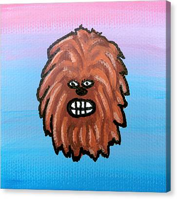Chewy Canvas Print by Jera Sky