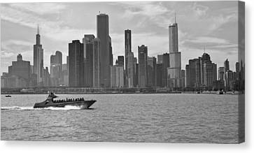 Chicago Lakeside Canvas Print by Michael Avory