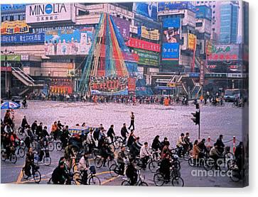 China Chengdu Morning Canvas Print by First Star Art