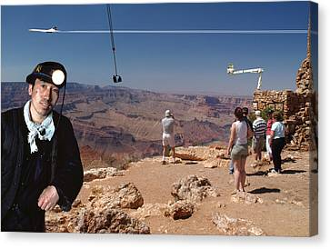 Chinese Buy Grand Canyon-1 Canvas Print by Larry Mulvehill