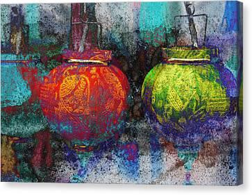 Chinese Lanterns Canvas Print by Skip Nall