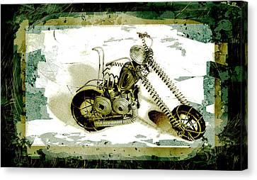 Chopper 1 Canvas Print by Mauro Celotti