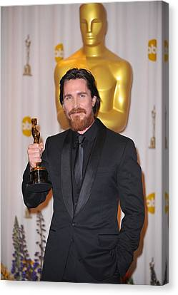 Christian Bale, Best Performance By An Canvas Print by Everett