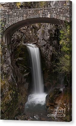 Christine Falls Serenity Canvas Print by Mike Reid