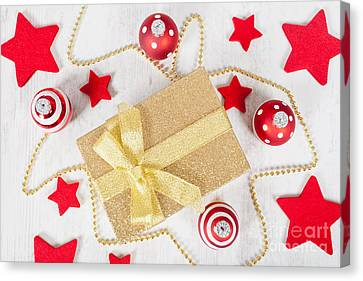 Christmas Gift Pack Canvas Print by Sabino Parente
