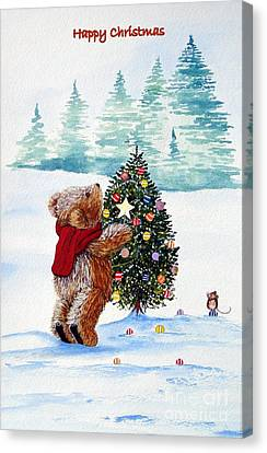 Christmas Star Canvas Print by Gordon Lavender