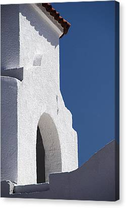 Church Bell Tower Chacras De Coria Canvas Print by Philippe Widling