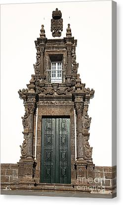 Church Door Canvas Print by Gaspar Avila