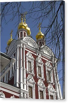 Churches Russia6 Canvas Print by Yury Bashkin