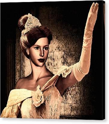 Cinderella Canvas Print by Lourry Legarde
