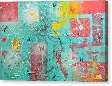 Circle Of Life Canvas Print by Wayne Potrafka
